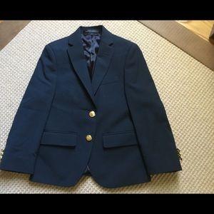 Classic Blue Blazer, Lauren, Size 8